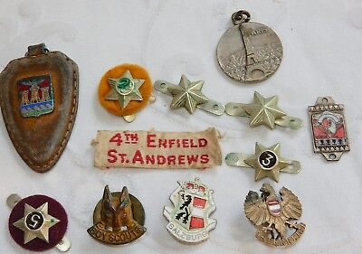 Vintage Collection Scouting Service Stars & Badges Badge Boy Scouts + Related