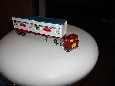 Matchbox Superkings K-17 England vintage mint Scammel Tractor mit Container Top