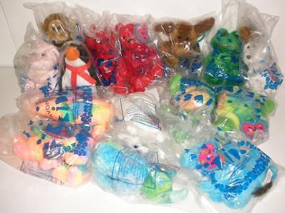 1999 Complete Set Of Avon Birthstone Full O Beans Animals - Sealed And Unopened