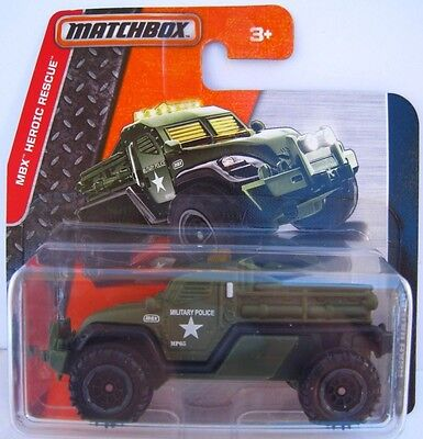 Military Police ROAD RAIDER  MBX Heroic Rescue  Matchbox 85/125  1:64  OVP