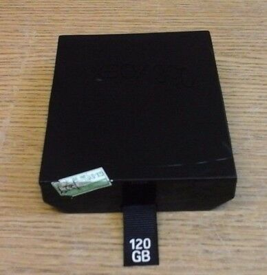 Official Xbox 360 S 120Gb Hard Drive Hdd Harddrive Slim 360S Genuine