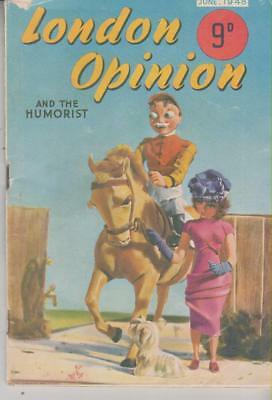 London Opinion And The Humorist