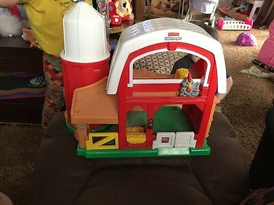 Fisher Price Little People Barn Silo Farm with Sounds