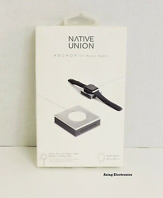 Native Union ANCHOR Base for Apple Watch 38mm and 42mm Silver/Gray