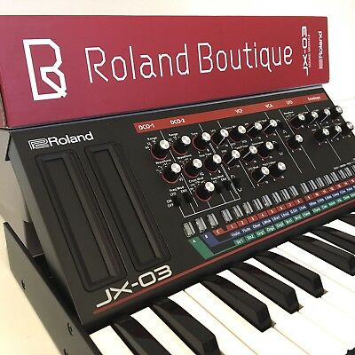 Roland Boutique JX-03 Perfect condition includes K-25 Keyboard
