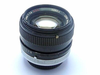 Canon FD 50mm 1.4 S.S.C. Vintage,Prime Lens in Very Good Condition