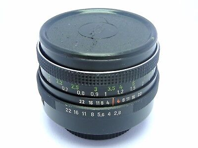 Carl Zeiss Jena DDR 50mm 2.8 Tessar,Vintage Lens in Excellent Condition