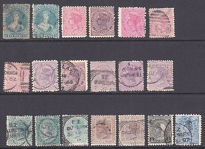 NEW ZEALAND COLLECTION LOT OG H M/M CXLS $300+ CHALON HEADS 99c NO RESERVE