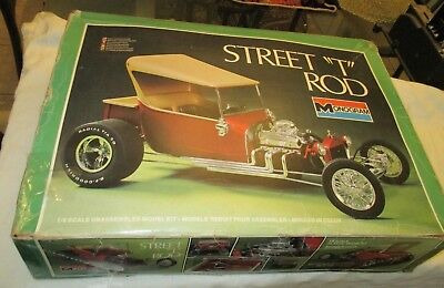 Monogram 1/8 Scale Street T Rod Kit  # 2604, Complete, New Parts