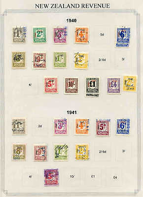 NEW ZEALAND SOCIAL SECURITY COLLECTION LOT 1940-1941 99c NO RESERVE