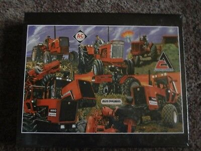 Allis-Chalmers Tractor Puzzle-D-21,7080,8550-SUNSET OF A LEGEND