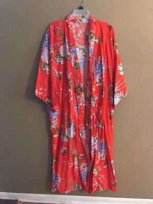 Juguemm Made In Japan Ladies Full Length Kimono Robe - One Size