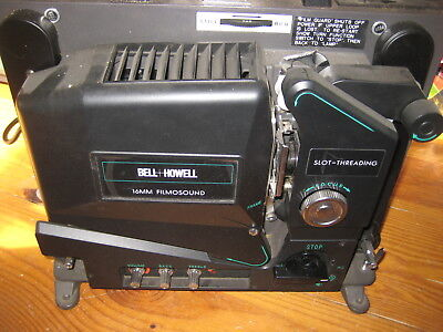 Bell & Howell 16mm Projector works Great -  Model 3580