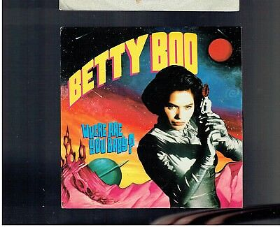 Betty Boo Where Are You Baby Ps 45 1990
