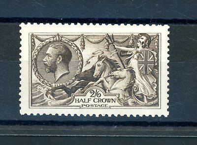 Great Britain  1913 Waterlow  2s 6d Seahorse  (SG 400)  L.H.M.  (O1300)