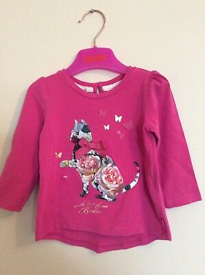 Ted Baker Baby Girls Top 9-12 Months, Excellent Condition