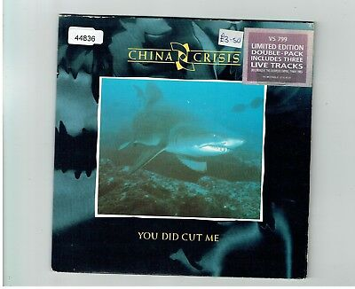 China Crisis You Did Cut Me 2X45 Double Pack 1983