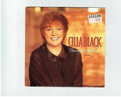 Cilla Black Through The Years Ps 45 1993