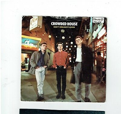 Crowded House Don't Dream It's Over Ps 45 1986