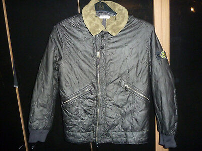 Stone Island Junior Genuine Quality Fur Collar & Lined Jacket Size Age 12