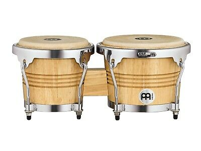 Meinl Bongo Set WB200NT-CH Natural - Wood Series - Chrome