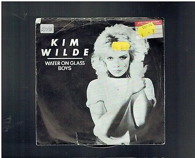 Kim Wilde Water On Glass Ps 45 1981