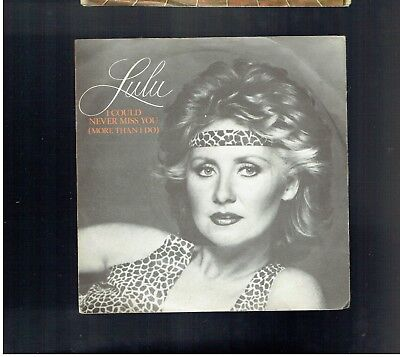 Lulu I Could Never Miss You(More Than I Do)Ps 45 1980