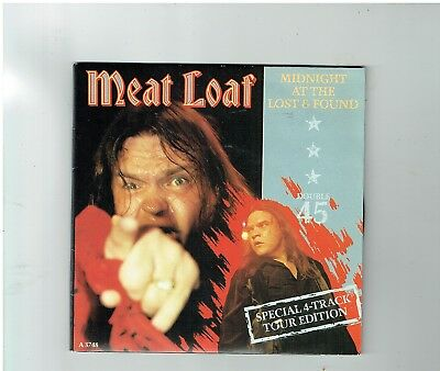 Meatloaf Midnight At The Lost & Found 2X45 Double Pack 1983