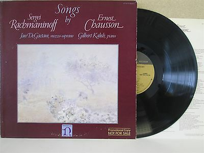 H-71373- Jan DeGaetani, Gilbert Kalish- Songs by Rachmaninoff/Chausson LP (1980)