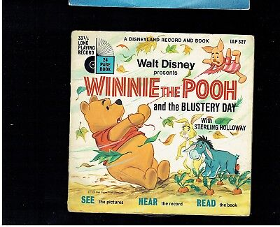 Walt Disney Winnie The Pooh And The Blustery Day Ep