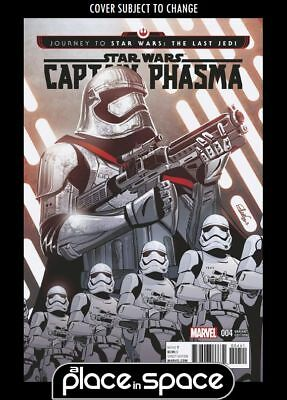 Journey To Star Wars: The Last Jedi - Captain Phasma #4C (1:25) Charretier Varia