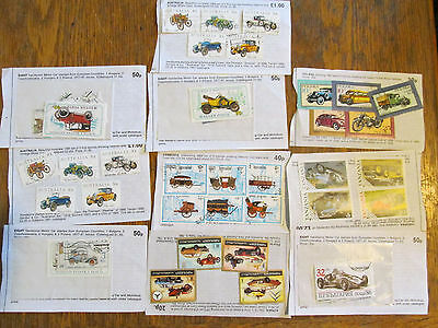 Vehicles Approval pages collection many sets good c/v    1