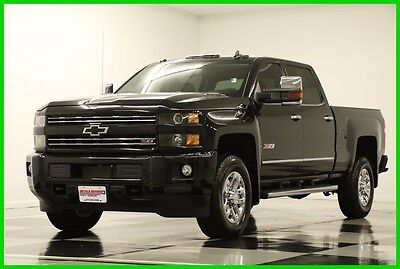 2016 Chevrolet Silverado 3500 HD 4WD Z71 Diesel Sunroof Black GPS Crew 4X4 2016 LTZ Crew Cab  4X4  Diesel Heated Leather Sunroof Used Turbo 6.6L V8 32V 4WD