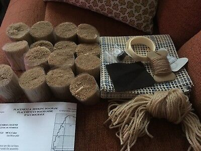 Latch Hook Teddy Rug Making Kit