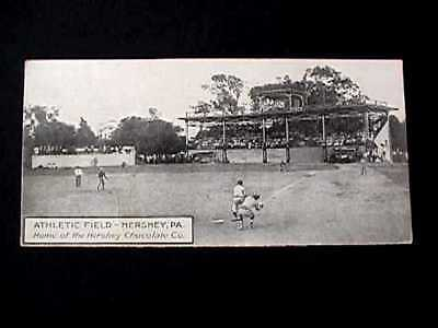 Athletic Field Hershey Pennsylvania Early Postcard View Of Baseball Game