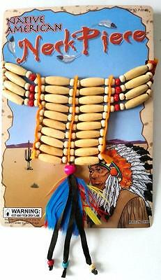 Native American INDIAN Tribal Necklace Fancy Dress Party Costume Jewellery