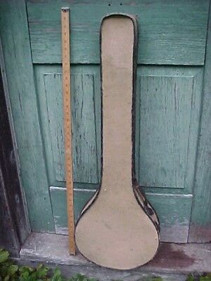 C1900 Vintage 5 string open back Banjo Case