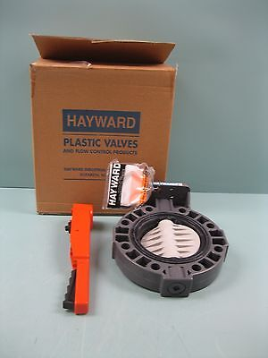 "6"" Hayward PVC Butterfly Valve PP Disc BY140600EL NEW P1 (2241)"