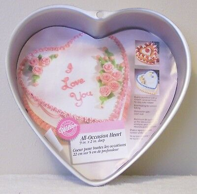 Wilton  All Occasion Heart Cake Pan    New