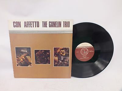 "The Ganelin Trio Con Affetto 12"" Vinyl LP 1985 UK Pressing VG - H06"