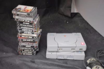 Playstation 1 Bundle: 2 Consoles, 2 Controllers, 20 Games LOT 2