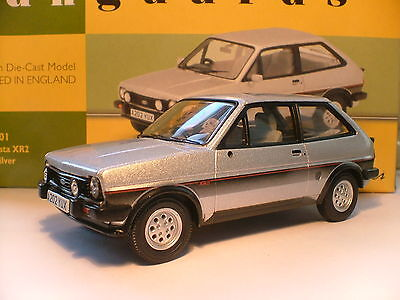 Very Rare Vanguards 1983 Silver 1/43 Ford Fiesta Mk 1 Xr2 Right Hand Drive Nla