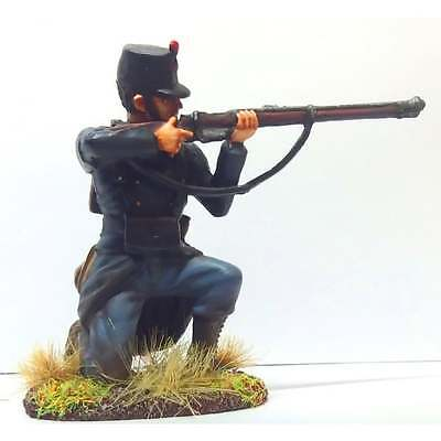 Empire Miniatures 1:32 W1-1407 WW1 Belgian 10th Line Inf Kneeling Firing No 1