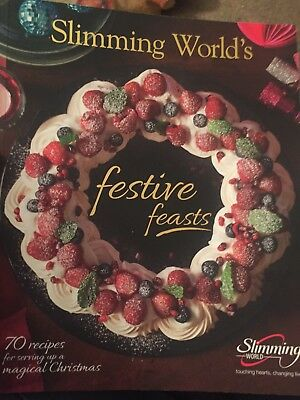 Slimming World Festive feasts recipe book over 70 amazing recipes for Christmas