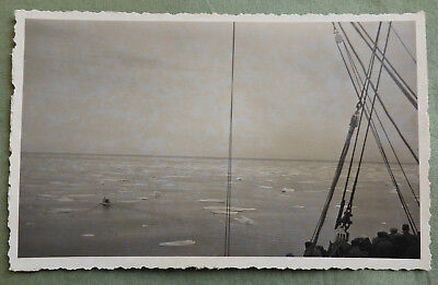 Real photo Cruise to Spitsbergen 1934 Verso la banchisa to the Sea Ice