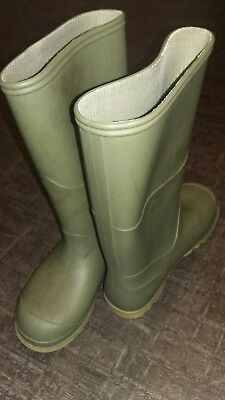 Green Wellies Size 12