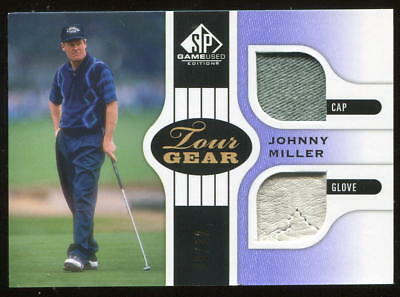 2012 SP GU Game Used Tour Gear Purple Johnny Miller  08/12
