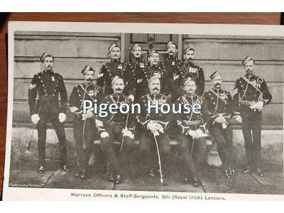 5th Royal Irish Lancers: Warrant Officers & Staff Sergeants