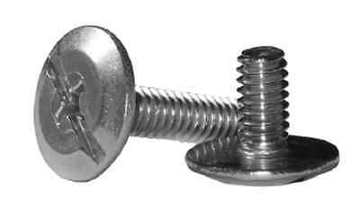 "1/4""-20 X 1"" Stainless Steel Sidewalk Bolt Combo Drive (50)"