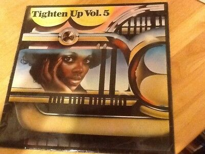 Tighten Up Vol. 5 Comp Vinyl (Various - 1971) TBL 165 VG Cond